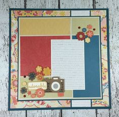 Courtney Lane Designs: Cricut Artistry Scrapbook Layout