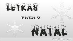 Fonte de Letras com Neve (Natal) - Bait69Network
