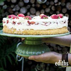 Ein Genuss für alle Sinne. Tiramisu, Ethnic Recipes, Food, Strawberry Cakes, Strawberries, Essen, Meals, Tiramisu Cake, Yemek