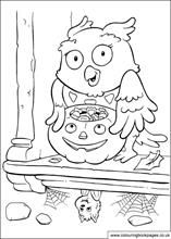 You didn't know owls play treak or treat did you?