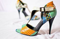 le pagne, tissu africain, tenue africaine, le wax, chaussures