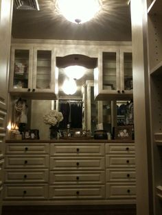 Dressing Room Dresser, Mirror