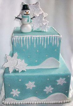 winter cake idea