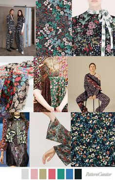 Flower Bed - Pattern Curator Trend ss 2018