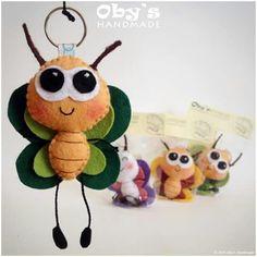 felt bug design idea sewing craft