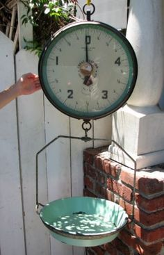 Would look great in the kitchen ~ We love scales at American Home & Garden always an AMAZING selection~