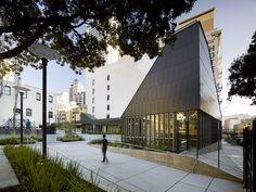 Boeddeker Park San Francisco, CA Flatlock Panels RHEINZINK 1.0MM prePATINA graphite grey zinc