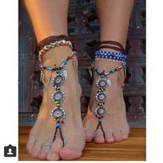 jewels bracelet cute ring summer feet foot jewels feet jewels indie anklet anklets beads surf sea sun toes feathers feather beads braclet surf girl