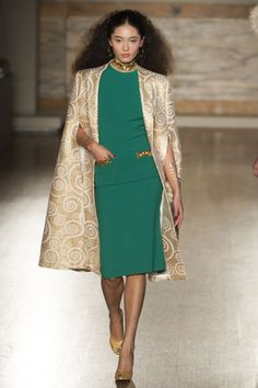 Love the cape. L'Wren Scott A/W '13