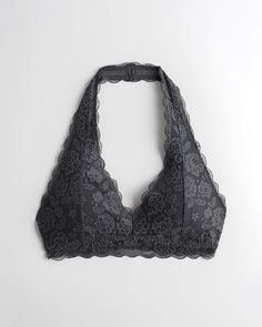 Gilly Hicks Gilly Hicks Lace Halter Bralette | Gilly Hicks New Arrivals | HollisterCo.com