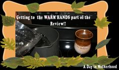 Coppins Gifts ~Hand Warming Cozy Mug for Mom & Hot Cocoa Recipe for the Kids~