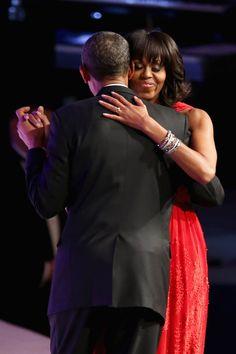 Celeb Diary: Barack & Michelle Obama @ The Inaugural Ball