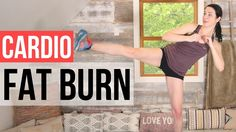 HIIT Fat Burning Cardio Workout - Quick Intense Workout for Weight Loss ...
