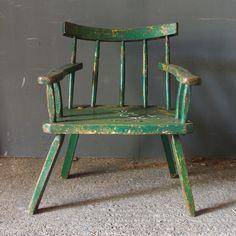 An antique Irish country chair