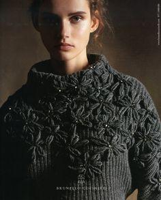 Decorialab knitwear Studio www.decorialab.com — womenmanagement: Giedre Dukauskaite for Brunello...
