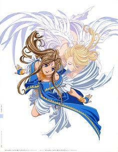 Ah! My Goddess - Belldandy and Holy Bell