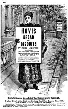 1895. Hovis Bread & Biscuits advert