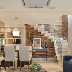How to choose and buy a new and modern staircase – My Life Spot Home, House Styles, House Design, Living Room Designs, New Homes, Home Stairs Design, Interior Design, House Interior, Home Deco
