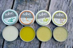 Emergency Salves; freshly hand-made in small batches, ingredients from certified organic American farmers
