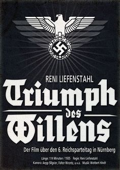 Reifenstahl initially refused Hitler's commission for the film, but relented when she received unlimited resources and full artistic control for the film. Triumph of the Will, with its evocative images and innovative film technique, ranked as an epic work of documentary film making, and is widely regarded as one of the most masterful propaganda films ever produced.