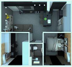 Apartamento de 40m2 com muito estilo, acolhedor e muito bem aproveitado. Apaixonante 😍😍 Projeto @criararquiteturaedesign #campogrande #decoracao #detalhes #apartamento #design #designdeinteriores #decoração #estilo #mobiliario #arquitetura #homedecor #casa #homedesign #casadecoracao #interiores #interiordesign #mrv #inspiração #ideias #instaarq #instadecor #instamood #pequeno #instagood #instahome #