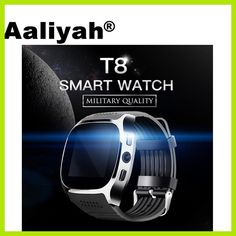 9162b059b7e Aaliyah T8 Bluetooth Smart Watch With Camera Music Player Facebook Whatsapp  Sync SMS Smartwatch Support SIM
