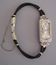 Deco watch, 1920's. OMG I have this watch!!! It was my grandmoms