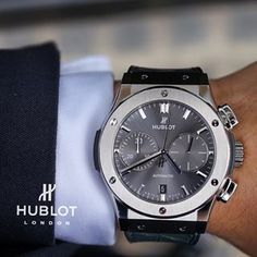 Hublot - Classic Fusion Racing Grey Chronograph Black Magic, ref.521.NX.7071.LR…