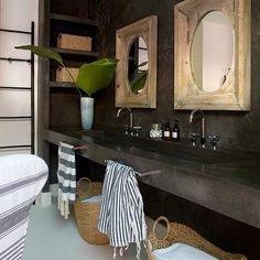 Zen Bathroom, Eclectic, bathroom