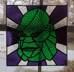 Creature from the Black Lagoon by Evilnice  Stained Glass