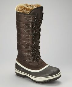 Take a look at this Brown Pearl Waterproof Snow Boot - Women by Kodiak on #zulily today!