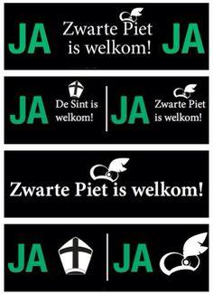 Zwarte Piet is Welkom Mailbox Stickers. Natuurlijk zijn Sint én Piet welkom in óns land voor álle kindertjes, en laat de volwassenen(?) daar van af blijven,het is een ''kínderfeest'' dus laat het een ''kinderfeest'' blijven!!!..........lbxxx.