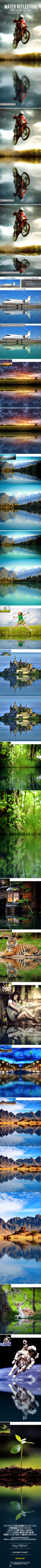 3-in-1 Water Reflection Photoshop Action. Download here: https://graphicriver.net/item/3in1-water-reflection-photoshop-action/16990697?ref=ksioks