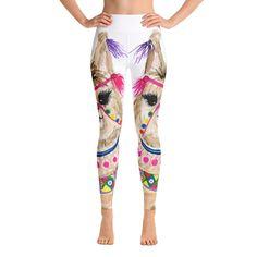 Fiesta Llama Yoga Leggings