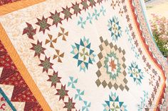The Golden Age Block of the Month - Fat Quarter Shop's Jolly Jabber Quilt Kits, Quilt Blocks, Block Of The Month, Fat Quarter Shop, Quilting Tutorials, Golden Age, Sewing Ideas, Quilt Patterns, Quilts