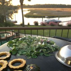 Fall squash and spinach with onions make a great fall meal outdoors. I serve with pita grilled on Evo and yogurt sauce. #vegetarian #evogrill
