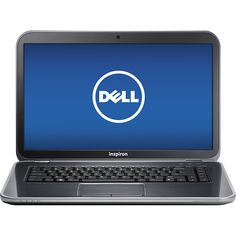 "Dell - Inspiron 15.6"" Laptop - 6GB Memory - 750GB Hard Drive - Moon Silver"