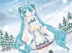 Resultado de imagen para imagenes de miku hatsune navidad