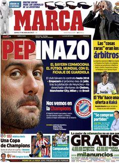 'Pepinazo' | La portada del 17 de enero de 2012