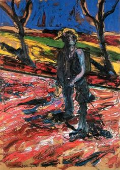 Francis Bacon, Étude pour un portrait de Van Gogh (1957)