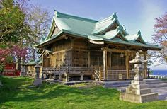 Otaru Suitengu Shrine, Hokkaido.