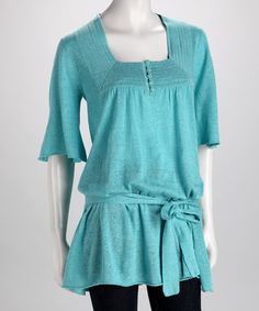 Breezy Linen Tunic by Dolce Cabo on #zulily today!