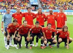 Seleccion De Futbol Espana .