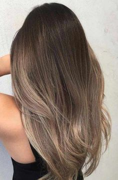 ideas hair long brunette straight subtle ombre for 2019 – Balayage Hair Ash Brown Hair Color, Brown Blonde Hair, Brown Hair With Highlights, Ombre Hair Color, Light Brown Hair, Ash Brown Ombre, Brunette With Blonde Highlights, Natural Highlights, Brown Hair Dyed Blonde