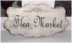 Flea Market Shabby Cottage French Paris by mycountrycottagesign, $21.95