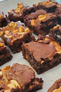 "Caramel Turtles® Brownies | ""Very moist & tasty. "" #dessertrecipes #dessertideas #sweettreats #brownies #brownierecipes #homemadebrownies"