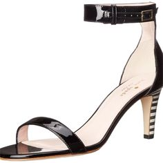 Kate Spade Elsa Dress Sandal Black White Pumps. Get the must-have pumps of this…