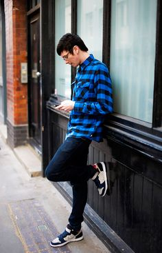 Guy outfits on Pinterest | Skater Boys, Grunge Boy and Buffalo Check