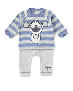 Tigger Jersey Baby Outfit