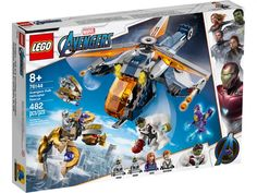 Shop LEGO Marvel Avengers Hulk Helicopter Rescue 76144 at Best Buy. Find low everyday prices and buy online for delivery or in-store pick-up. Lego Marvel's Avengers, Lego Hulk, Lego Marvel Super Heroes, Figurines D'action, Hulk Action Figure, Action Figures, Legos, Black Widow And Hulk, Films Marvel